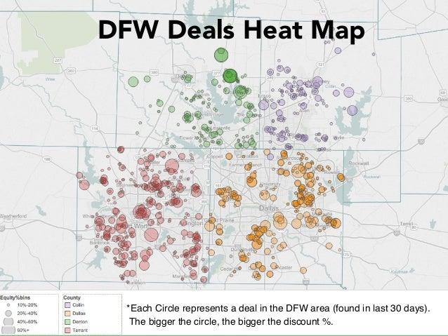 Dfw deals heat map sep 2015 on