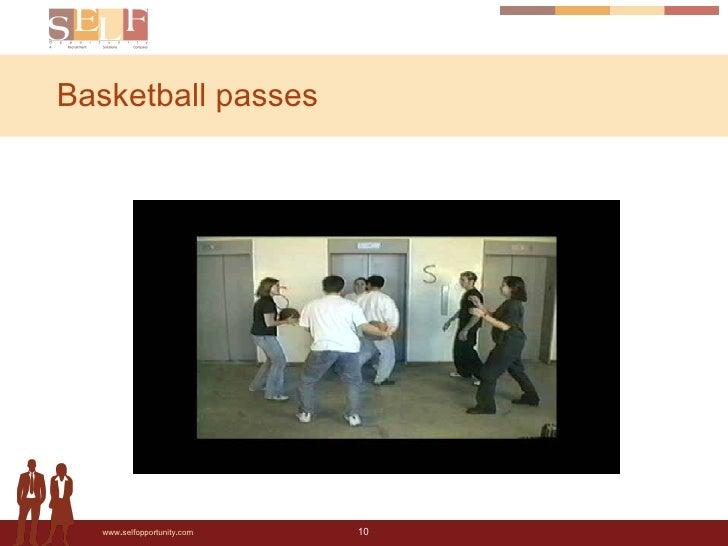 Basketball passes