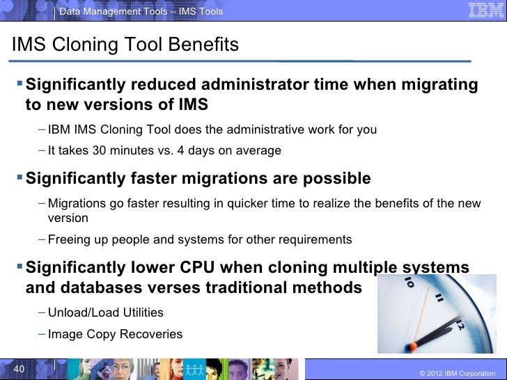 ims cloning tool migrate to new releases of ims