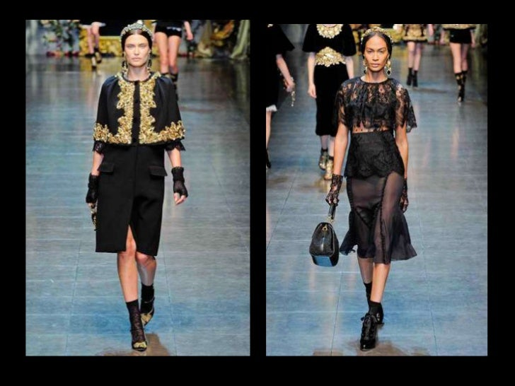 Dolce & Gabbana   Fall/ Winter 2012Image Source: Style.com