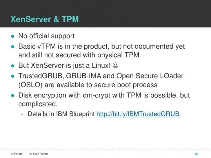 Hypervisor and VDI security