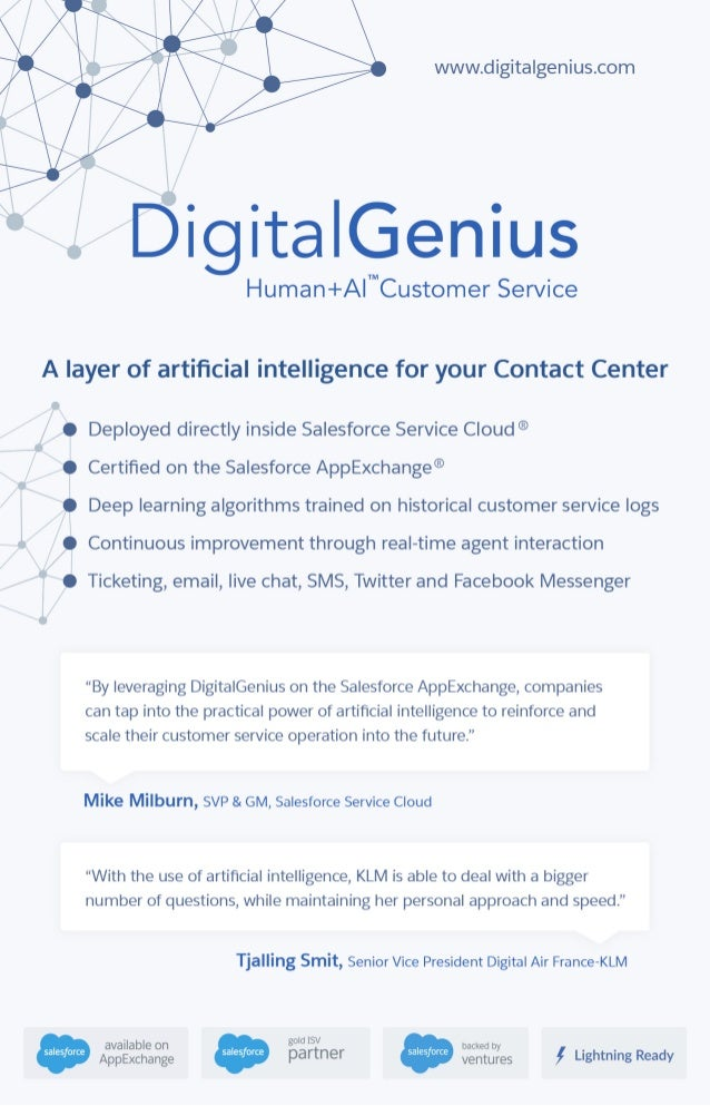 DigitalGenius - Human+AI for Customer Service