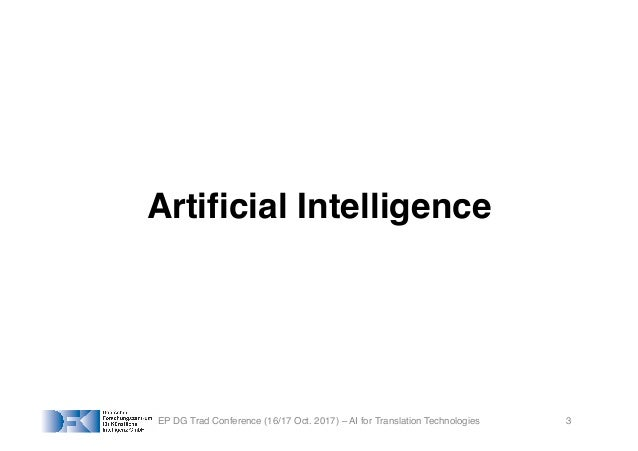AI for Translation Technologies and Multilingual Europe Slide 3