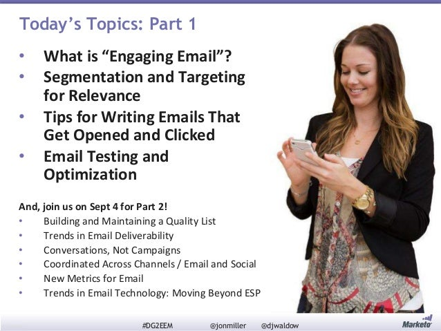 Definitive Guide to Engaging Email Marketing Series (Part 1): How to Grow Your List, Break the Rules, and Win Slide 3