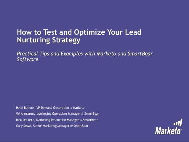 How to Test and Optimize Your Lead Nurturing Strategy