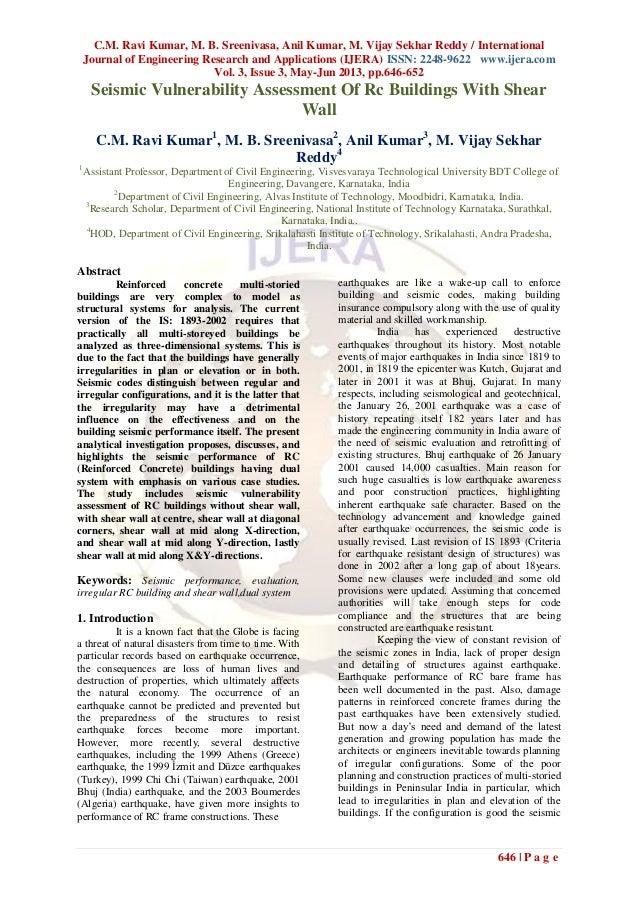 C.M. Ravi Kumar, M. B. Sreenivasa, Anil Kumar, M. Vijay Sekhar Reddy / InternationalJournal of Engineering Research and Ap...