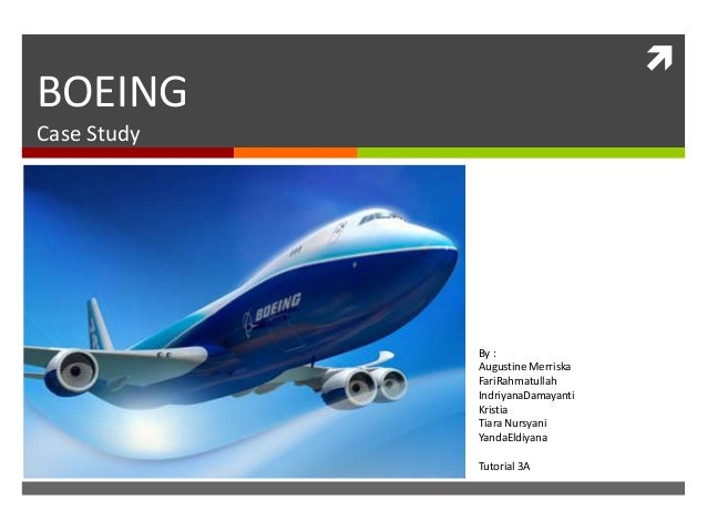 boeing 7e7 case study excel