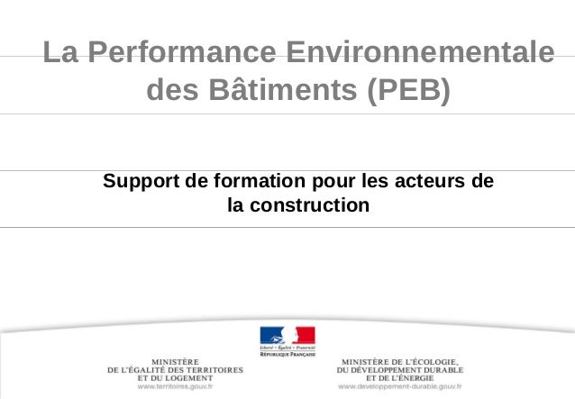 www.developpementdurable.gouv.fr Ministèredel'Écologie,duDéveloppementdurable, desTransportsetduLogement LaPerf...