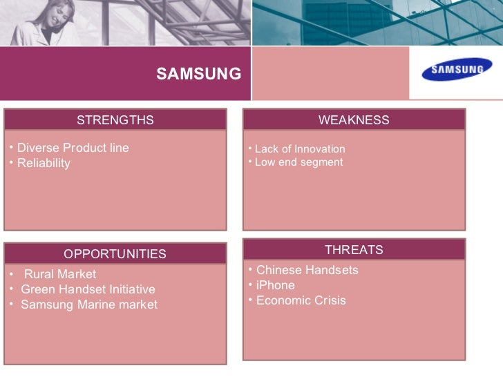 market segmentation of samsung mobile