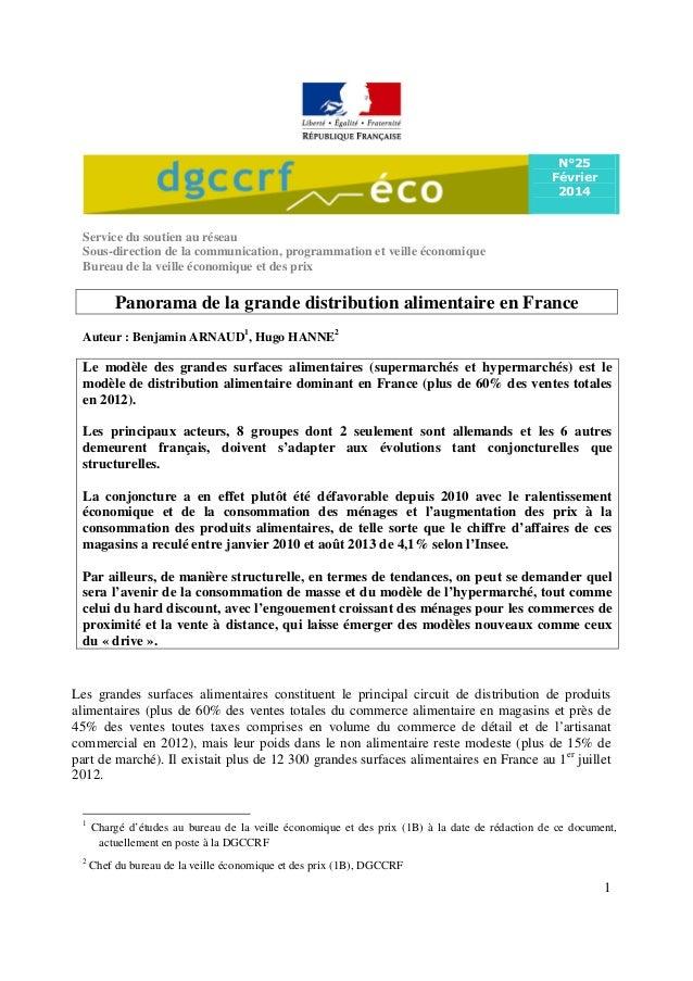 N°25 Février 2014  Service du soutien au réseau Sous-direction de la communication, programmation et veille économique Bur...