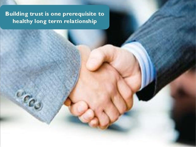 How can companies build strong relationship with busines ...