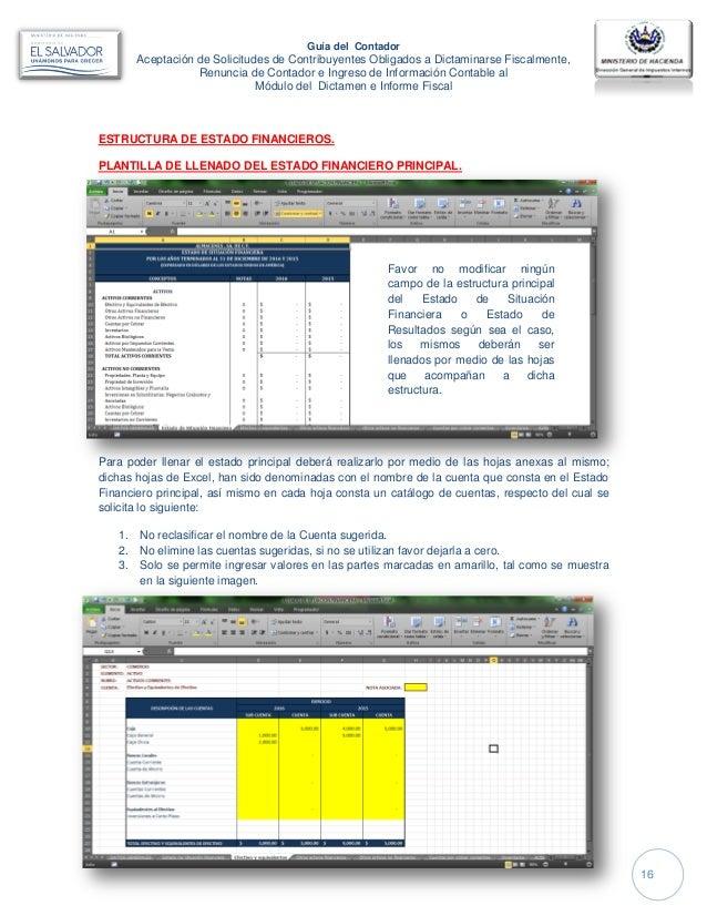 Guia del Contador Modulo del Dictamen Fiscal
