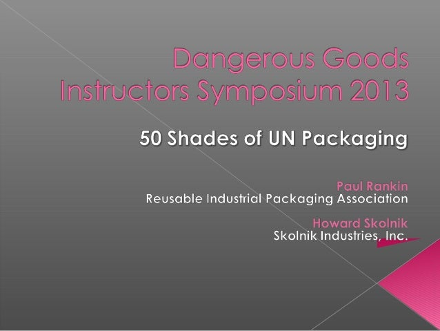  An insightful examination of the tangled relationship between dangerous goods regulations and compliant packaging.