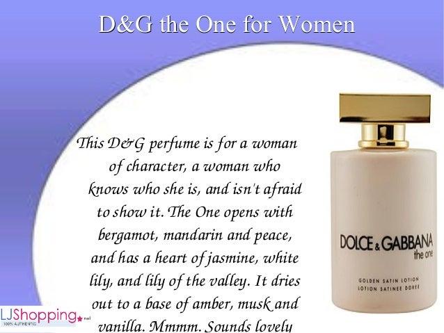 D&g perfume Slide 3