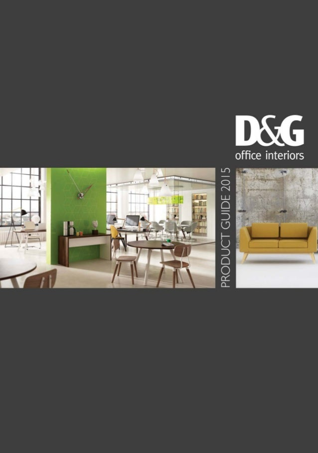 DG Office Furniture Product Guide 2015