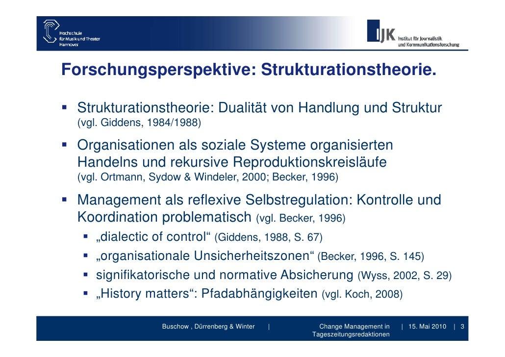 Change Management in Tageszeitungsredaktionen - Vortrag DGPuK Jahrestagung 2010 Medieninnovationen Slide 3
