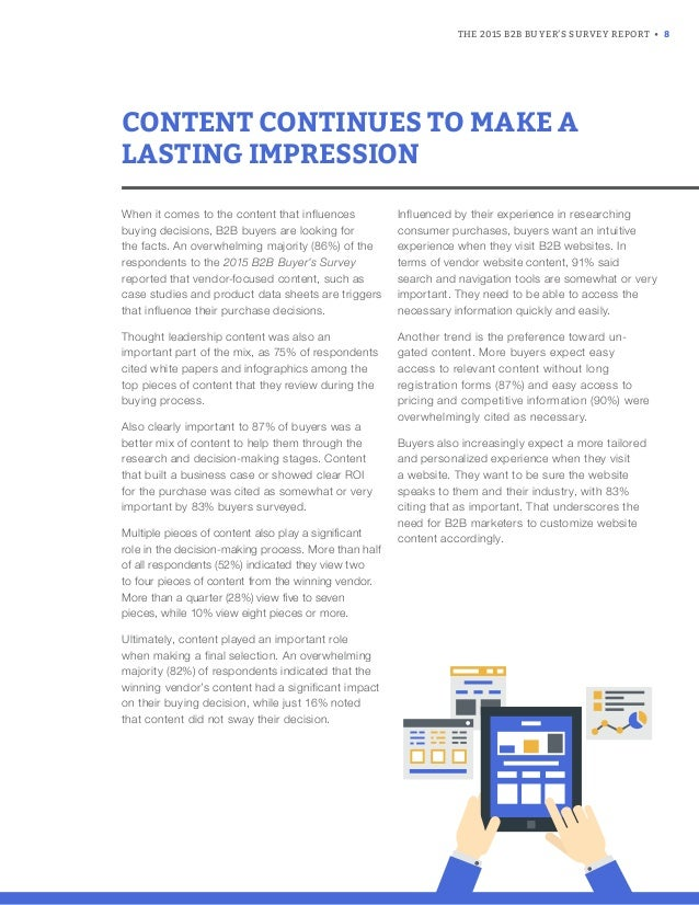 b2b report This year's b2b content marketing  thanks to the following for their assistance with the annual content marketing survey and this report: cmi team members joe.