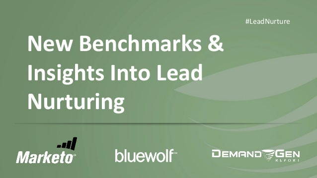 New Benchmarks & Insights Into Lead Nurturing
