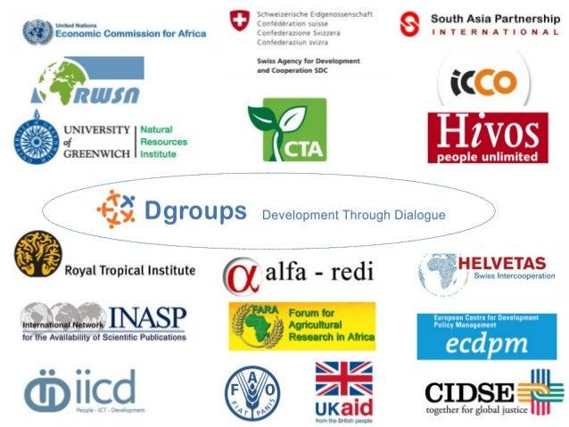 ThanksDgroups PartnersCommunication support: Pier Andrea Pirani (Euforic  Services)WA-Research: Damir SimunicBoard members...
