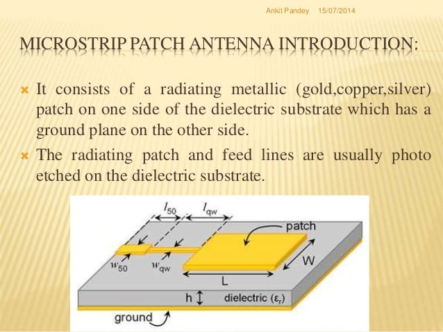 Microstrip antenna array thesis writing