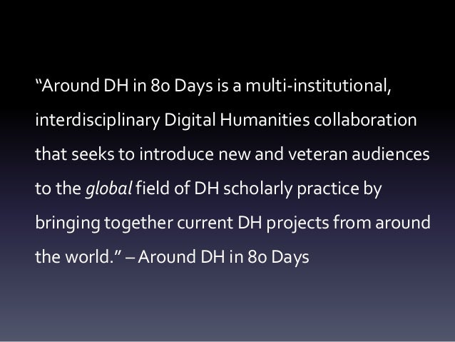 Other Worlds, Other DHs - Roopika Risam #DH2014 Slide 3