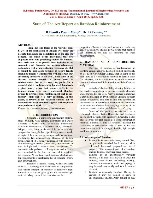 B.Benitta PaulinMary, Dr. D.Tensing / International Journal of Engineering Research and                     Applications (...