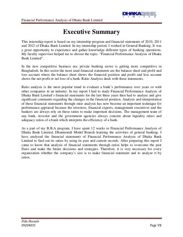 performance of dhaka bank limited International journal of advanced multidisciplinary performance of employees of national bank system of the national bank limited, dilkusha, dhaka.