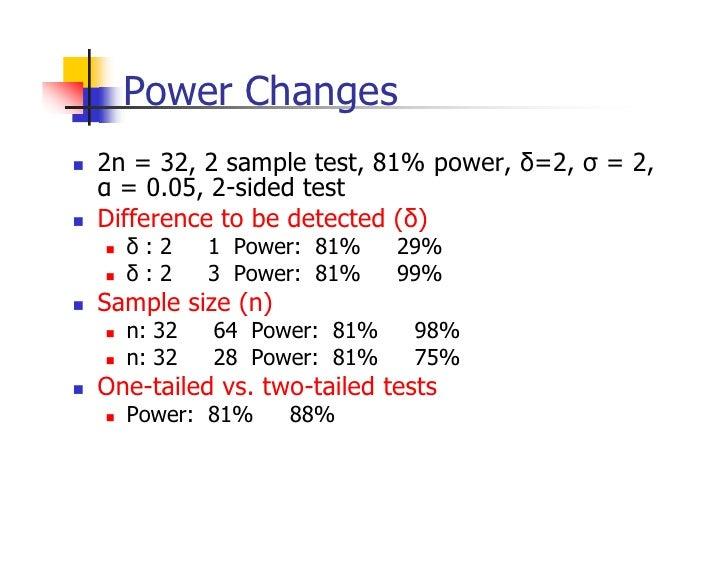 power analysis sample size