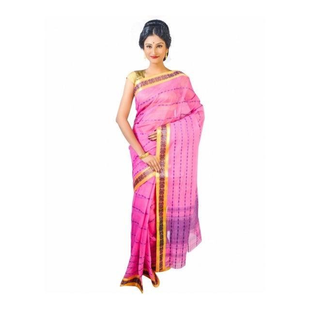 Dhaniakhali Tant Saree Manufacturer Wholesaler Delhi India