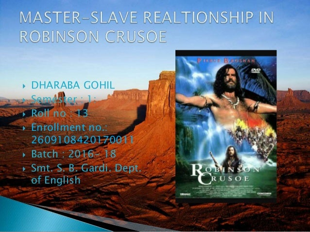relationship between master and slave