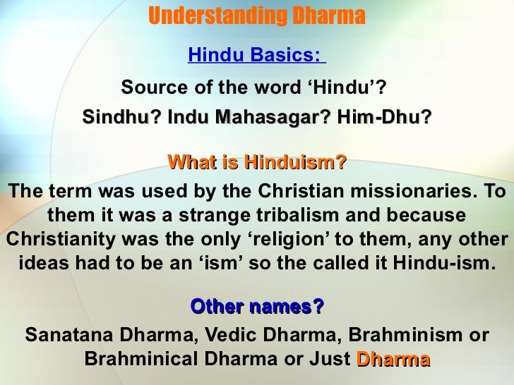 Hinduism and Christianity
