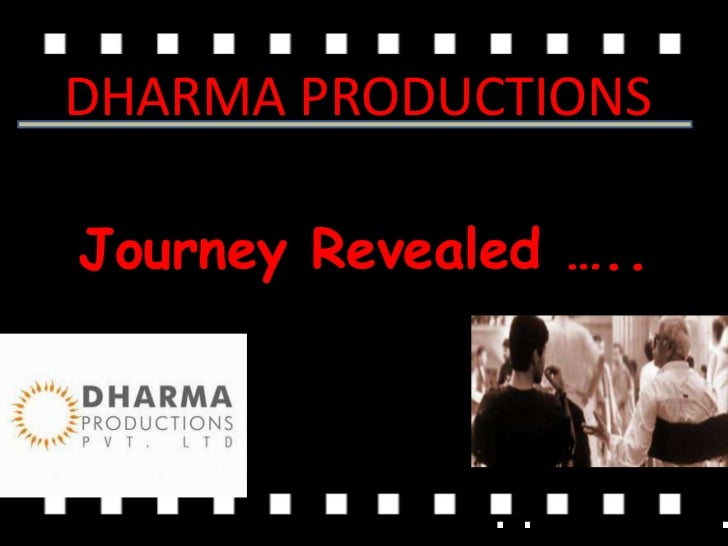DHARMA PRODUCTIONSJourney Revealed …..