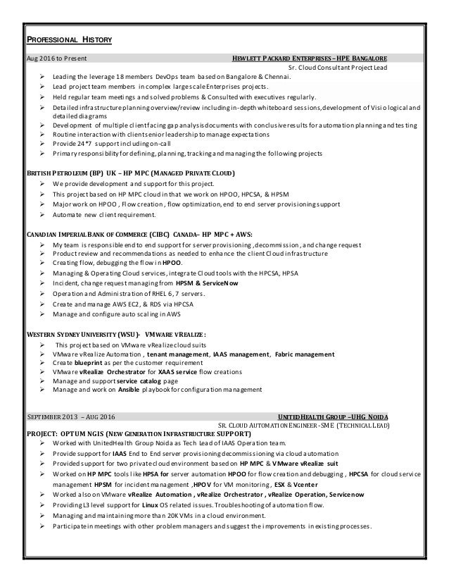 trainingdocuments certification 2 - Devops Engineer Resume