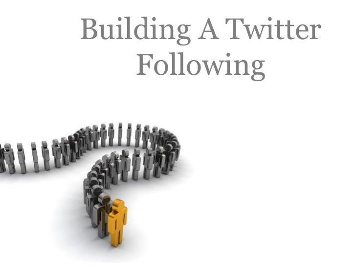 Building A Twitter     Following