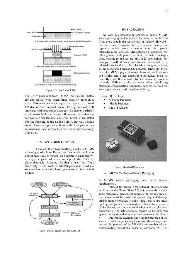 PAPER ON MEMS TECHNOLOGY Slide 3