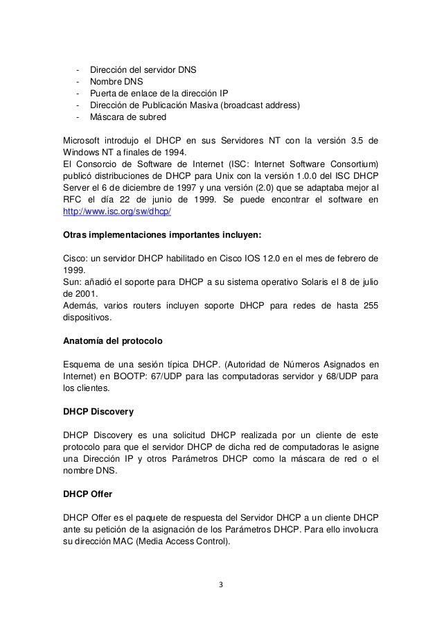 PDF DHCP