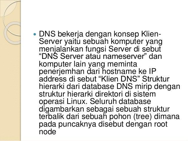 Struktur Hierarki Dari Database Dns Mirip Dengan Struktur Hierarki Direktori Di Sistem Operasi