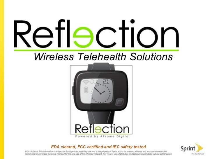 Wireless Telehealth Solutions FDA cleared, FCC certified and IEC safety tested