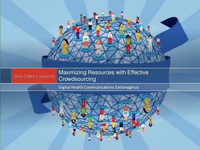Maximizing Resources with EffectiveCrowdsourcingDigital Health Communications Extravaganza