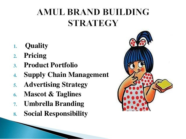 Branding Strategy Of Amul
