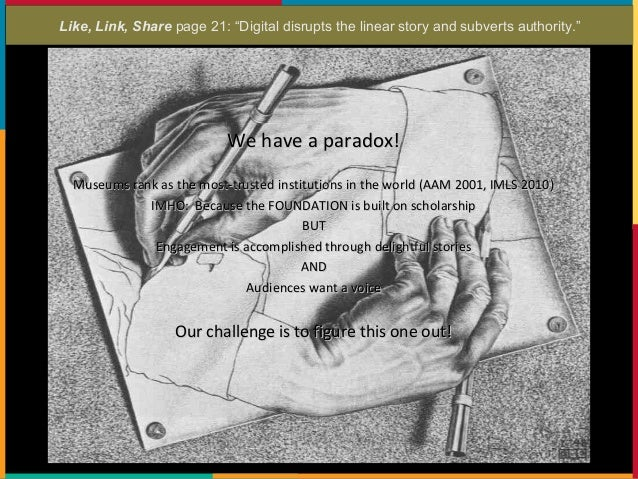 "Like, Link, Share page 14-15: ""Shake Up the Org Chart"""