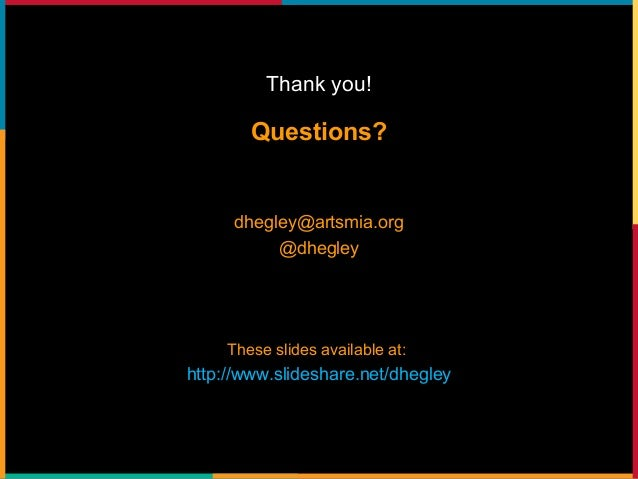 "Digital Strategy & the Arts: A Reflection on ""Like, Link, Share"""