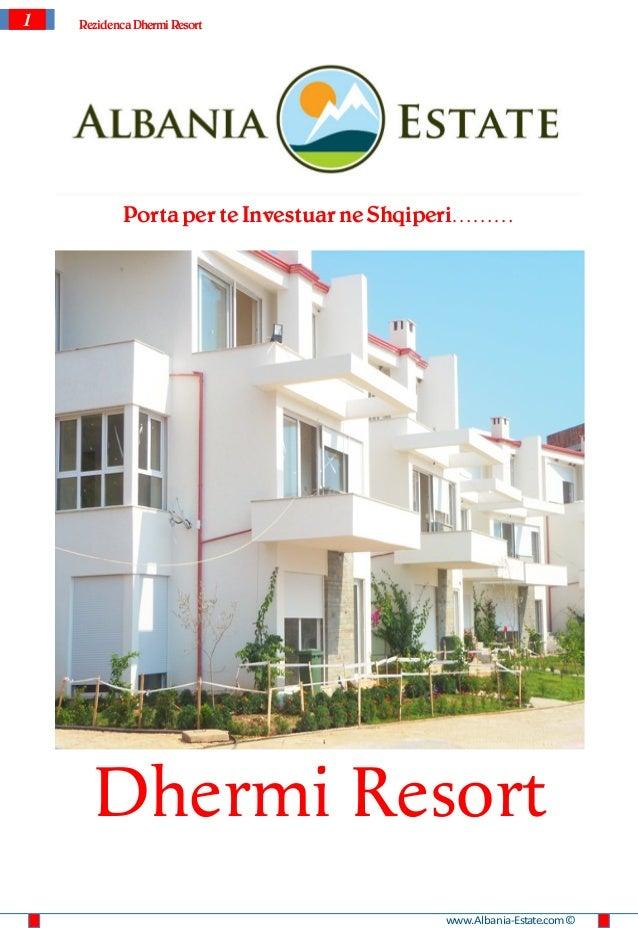 1   Rezidenca Dhermi Resort            Porta per te Investuar ne Shqiperi………      Dhermi Resort                           ...