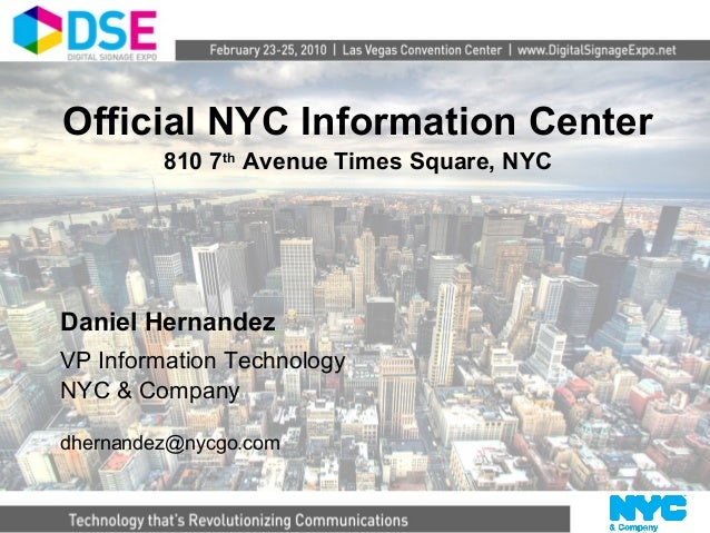 Case Study Modernize Official NYC Visitor Information Center