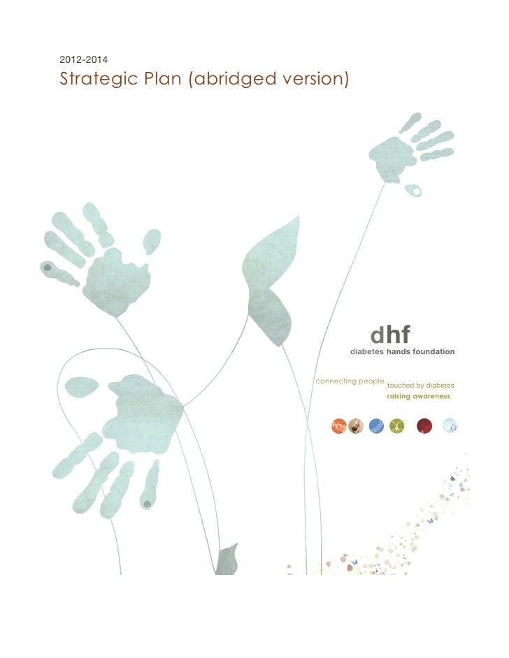 2012-2014Strategic Plan (abridged version)