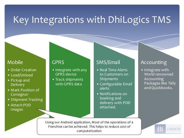 DhiLogics Transportation Management System