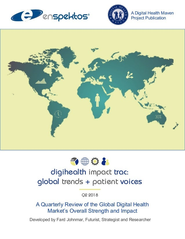 A Quarterly Review of the Global Digital Health Market's Overall Strength and Impact Developed by Fard Johnmar, Futurist, ...