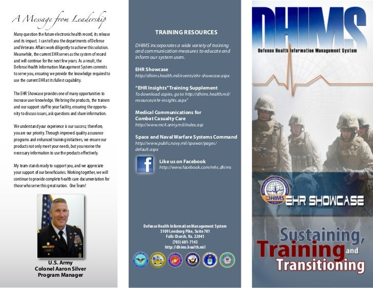 A Message from LeadershipMany question the future electronic health record, its release             TRAINING RESOURCESand ...