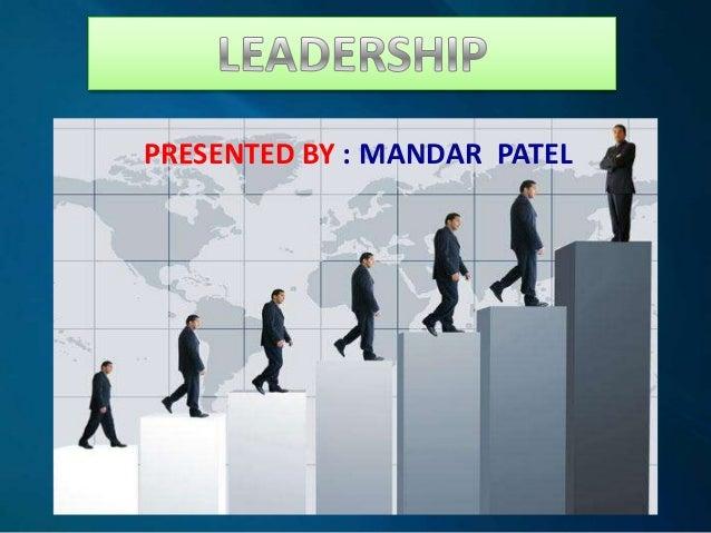 PRESENTED BY : MANDAR PATEL