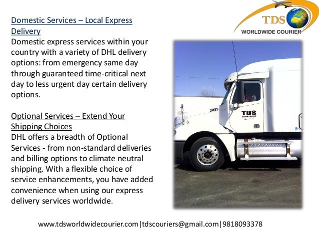 Dhl Courier Servics Courier To Canada